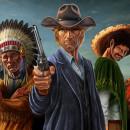 Wildguns - Ilustraciones. Um projeto de Ilustração, 3D, Direção de arte, Design de personagens, Ilustração digital, Videogames e Concept Art de Miguel Ligero Nieto - 27.10.2009