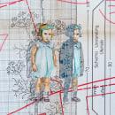 Fragmentos autobiográficos, acuarelas basadas en fotografías del álbum familiar.. Un proyecto de Ilustración de Lola Araque - 28.10.2020