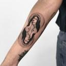 Tatuaje 09. Um projeto de Ilustração, Desenho, Ilustração digital, Desenho artístico, Desenho de tatuagens e Desenho digital de Diana Felix - 28.10.2020