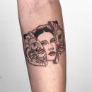 Tatuaje 10. Um projeto de Ilustração, Desenho, Ilustração digital, Desenho artístico, Desenho de tatuagens e Desenho digital de Diana Felix - 28.10.2020
