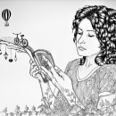 Historias de un bosque. Um projeto de Ilustração e Ilustração de retrato de Ale Lagos - 28.10.2020