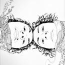 Nuestras almas dos idénticas formas. Um projeto de Ilustração e Ilustração de retrato de Ale Lagos - 28.10.2020