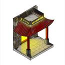 La Nueva China. Un proyecto de Ilustración, Arquitectura, Bocetado, Ilustración digital, Arquitectura digital e Ilustración arquitectónica de Dardo Molina - 30.10.2020