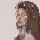 Mi Proyecto del curso: Retrato ilustrado con Procreate. Um projeto de Ilustração digital de yevazman - 31.10.2020