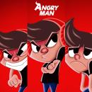 AngryMan. . Um projeto de Design, Ilustração e Animação de personagens de Andrés Sánchez Art - 03.11.2020