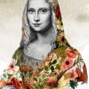 MI GIOCONDA . Un proyecto de Ilustración, Pintura a la acuarela y Dibujo de Retrato de Mary Orsini - 03.11.2020