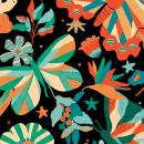 Meu projeto do curso: Ilustração flat com Photoshop (@zonizom). Un proyecto de Ilustración, Ilustración digital, Estampación e Ilustración botánica de Bárbara Dantas - 05.11.2020