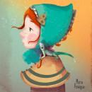 Gretel. Un proyecto de Ilustración digital, Ilustración de retrato e Ilustración infantil de Maria Paniagua - 07.11.2020