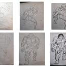 Mi Proyecto del curso: Ilustración para cómics: anatomía de un superhéroe. Un proyecto de Ilustración de Aless J. M. - 07.11.2020
