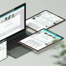 Reychel centro de estética avanzada. Um projeto de Web design de Sonia Sáez - 01.11.2020