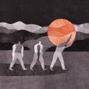 La muerte del sol. Un projet de Illustration de Andrea Espier - 11.11.2020