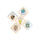 Brand for Kairós DS. Um projeto de Design gráfico, Design de logotipo e Design para Redes Sociais de Lara Cáceres Pérez - 12.01.2020