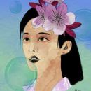 Mi primer retrato en digital! :3. Un proyecto de Ilustración, Pintura a la acuarela e Ilustración de retrato de Katty Escobar - 12.11.2020