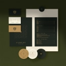 Mi Proyecto del curso: Diseño de papelería corporativa que cautiva . Um projeto de Design editorial, Design gráfico e Design de logotipo de Alberto Moreno López - 13.11.2020