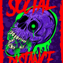 Social Distance. A Design, Illustration, Character Design, Graphic Design, Street Art, Vector Illustration, Creativit, Poster Design, Digital illustration, Concept Art, Textile illustration, Brush painting, and Social Media Design project by federico capón - 11.15.2020