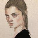 Mi Proyecto del curso: Retrato en acuarela a partir de una fotografía. Un proyecto de Pintura a la acuarela de M. Teresa González Bayod - 16.11.2020