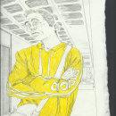Ilustraciones 1 . Um projeto de Ilustração, Desenho a lápis, Desenho, Ilustração de retrato, Desenho de Retrato, Desenho artístico e Ilustração com tinta de Ferran Vidal - 17.11.2020