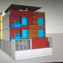 Depsratmentos sketchup. Un proyecto de Arquitectura, Modelado 3D y Dibujo digital de Jose Alberto Rodriguez Hernandez - 18.11.2020