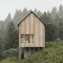 Haus Am Stürcherwald in Austria // CGI. A 3D, Architecture, and Architectural Photograph project by Alberto Luque - 11.19.2020