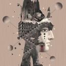 Fall collages. Um projeto de Fotografia, Design editorial, Colagem, Design de cartaz e Concept Art de ivan Rodriguez Garcia - 20.11.2020