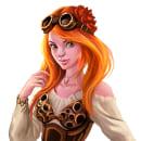 Steampunk Characters. Un proyecto de Ilustración, Diseño de personajes, Ilustración digital, Concept Art y Dibujo digital de Felixantos - 22.11.2020