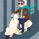 Vespa. Un proyecto de Ilustración e Ilustración digital de Fernanda Gomes - 24.11.2020