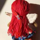 Claudina Muñeca Mi Proyecto del curso: Amigurumi: creación de personajes con ganchillo. A Design, Design von Figuren, Spielzeugdesign, Kreativität, Nähen, Weben und Art To project by Hada - 25.11.2020