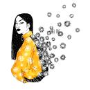 SPRING IS COMING. Um projeto de Ilustração, Artes plásticas, Ilustração de retrato, Desenho de Retrato e Ilustração com tinta de Abel Cao - 25.11.2020