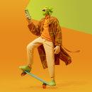 """""""Bianka"""" - Humanismo Digital. Um projeto de 3D, Moda, Animação de personagens, Design de moda, Modelagem 3D, Design de personagens 3D e 3D Design de Jaime Alvarez Sobreviela - 25.11.2020"""