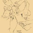 + Sketching study and warm up +. Un proyecto de Bocetado de Tomo Wowo - 18.12.2018