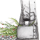 Al partir con el cielo en la manga. Um projeto de Ilustração editorial e Ilustração de Ale Lagos - 27.11.2020