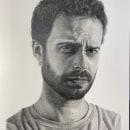RETRATO A GRAFITO en papel Caballo. Um projeto de Artes plásticas, Desenho de Retrato e Desenho realista de chicakes.ysa - 29.11.2020
