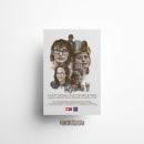 Cartel cinematográfico. HISTORIAS INCOMPLETAS . A Illustration, Graphic Design, Film, and Poster Design project by Eva Cortés Jiménez - 11.30.2020