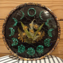 Placa botânica fases da lua. Um projeto de Artes plásticas de Ana Kacurin - 30.11.2020
