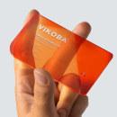 VIKOBA - TARJETA DE VISITA. Un progetto di Br e ing e identità di marca di David Espinosa - 01.12.2020