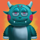Mi Proyecto del curso: Ilustración digital con Procreate. A Illustration, Character Design, and Digital illustration project by Oscar Munguía - 12.01.2020
