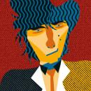 Mi Proyecto del curso: Ilustración digital con formas geométricas de Johnny Thunders. Um projeto de Ilustração vetorial de Miguel Ángel Rodríguez Lobato - 02.12.2020