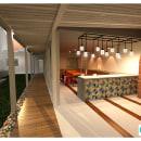 EXTERIOR. Un proyecto de Diseño, 3D, Arquitectura, Paisajismo e Ilustración arquitectónica de Gisella Callegari - 02.12.2020