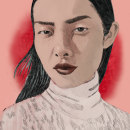 Meu projeto do curso: Retrato Ilustrado com Procreate. Un proyecto de Ilustración de retrato de Ana França - 04.12.2020