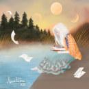 Tres lunas. Um projeto de Ilustração e Ilustração digital de Alma Parra - 07.12.2020