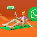 """""""Whatsapp"""" e """"Hipotecas"""" de Humanismo Digital. Um projeto de 3D, Design de personagens, Design de moda, Design de personagens 3D e Desenho digital de Jaime Alvarez Sobreviela - 08.12.2020"""