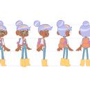 My project in Character Design for Animation with Photoshop course. Um projeto de Design de personagens e Animação 2D de Sara Casasco - 11.12.2020