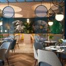 KAI LA CALETA - Restaurant design. Um projeto de Arquitetura, Br, ing e Identidade, Design de interiores, Design de iluminação, Interiores e Visualização arquitetônica de Nayra Iglesias - 11.12.2020