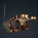 SteamPunk Goggles. Um projeto de 3D, Videogames e Desenvolvimento de videogames de Raz sanchez - 11.12.2020
