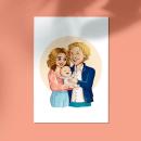 Ilustraciones personalizadas. Un proyecto de Ilustración, Ilustración de retrato, Dibujo de Retrato y Dibujo digital de Paula Vidal Tamarit - 02.11.2020