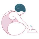 las hedonistas. Un progetto di Br, ing e identità di marca, Graphic Design, Illustrazione vettoriale, Design di loghi , e Comunicazione di Alina Zarekaite - 14.12.2020