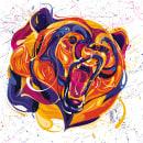 Animal Portrait . Um projeto de Ilustração, Ilustração vetorial, Ilustração digital, Ilustração de retrato e Ilustração naturalista de Dany Velez Cardona - 14.12.2020