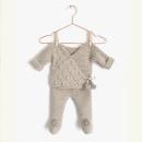 Conjunto de Punto NUR para bebé. Un proyecto de Artesanía, Pattern Design, Diseño de moda y Tejido de Marta Porcel Vilchez - 01.10.2018