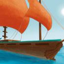 Proyecto Azul y Gris. Un proyecto de Ilustración y Concept Art de Atenea Mormont - 16.12.2020