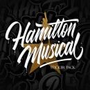 Hamilton Musical - Lettering Quotes. Un proyecto de Diseño gráfico, Diseño de logotipos, Lettering digital y Lettering 3D de Eduardo Morgan - 08.01.2020